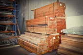 Timber Post 125 x 75 x 2.1/2.4/2.7/3.0 m (other lengths available)