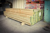 Treated pine sleepers all sizes